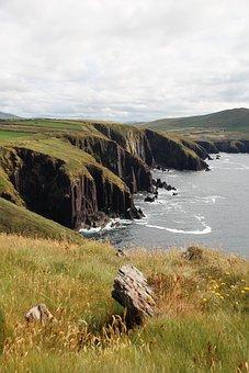 Ireland, Dingle, Coast, Sea, Ocean, Landscape, Kerry