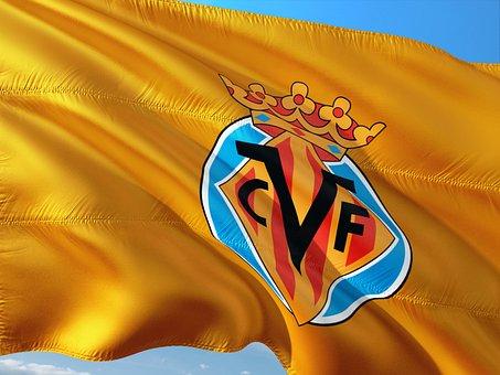 Football, International, Spain, La Liga, Flag