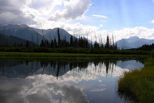 Lake, Water Mist, Scenery, Landscape, Nature