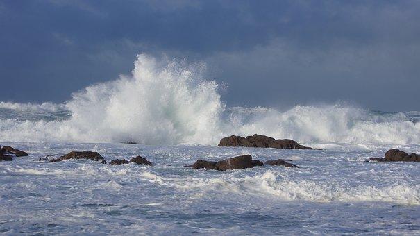 Sea, Surf, Storm, Foam, Lather