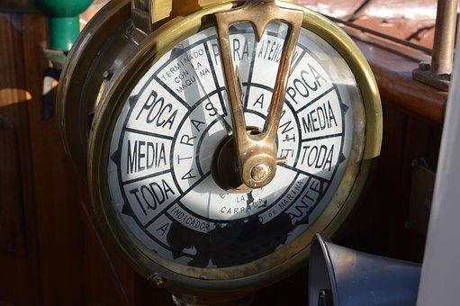 Indication, Clock, Machine, Order, Boat, Sea, Marina
