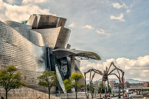 Guggenheim, Museums, Bilbao, Modernism