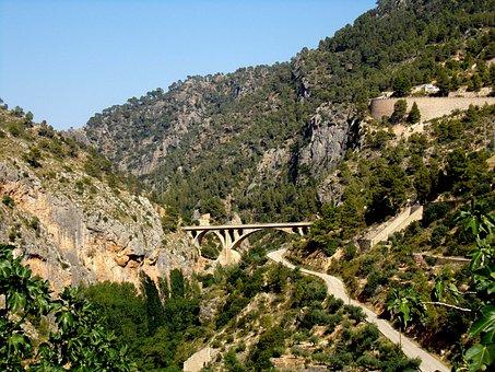 Nature, Mountain, Landscape, Bridge, Iberian Southeast
