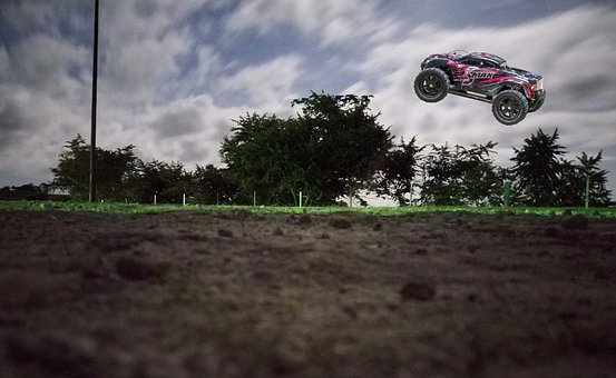 Rc, Remote Controlled, Vehicle, Jumping, Monster Truck