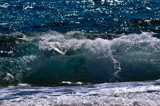 Wave, Spray, Foam, Sea, Water, Surf, Nature, Splash