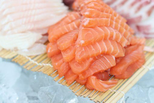 Time, Salmon Times, Japanese, Salmon, Food Photography