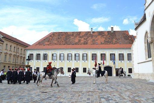 Zagreb, Upper Town, Croatia, Soldiers, Horse, Historic