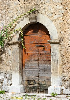 Ancient, Door, Old, Wood, Architecture, Jamb, Arc
