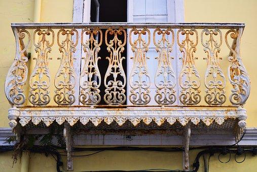 Construction, Balcony, Architecture, Art, Isometrics