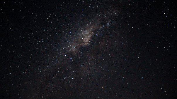 Milkyway, Stars, Astro Photography, Brown, Black