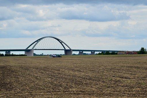 Fehmarn, Fehmarnsund, Bridge, Baltic Sea