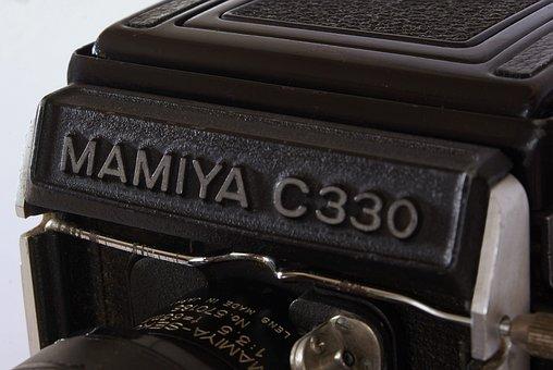 Camera, Mamiya, Vintage, Tlr, Film, 6x6, Analog, C330