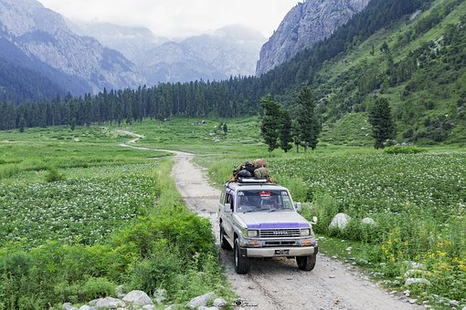 Jeep, Safari, North, Kumrat, Valley, Kpk, Pakistan