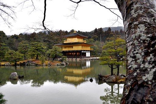 Kyoto, Kinkaku Ji, Ji, Shogun Ashikaga Yoshimitsu
