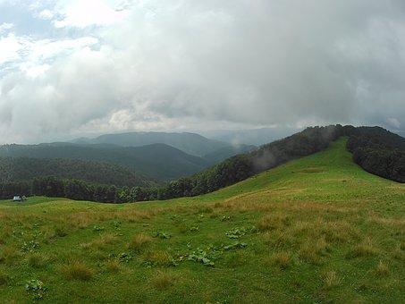 The Carpathians, Nature, Landscape, Sky, Mountains