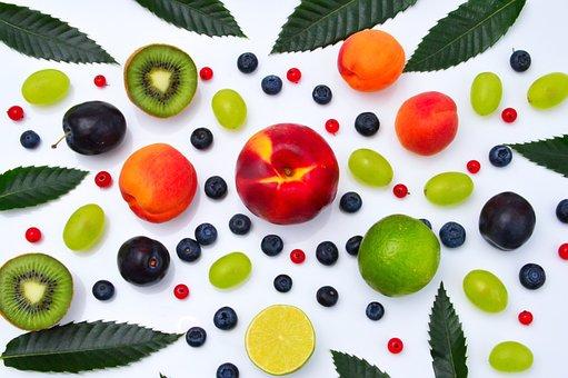 Color, Fruits, Peach, Lime, Lemon, Grape, Fresh, Sweet