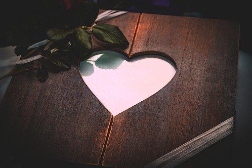 Wedding, Heart, Love, Romantic, Symbol, Decoration
