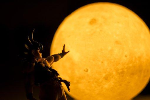 Moon, Moom, Nature, Dragon Ball, Night