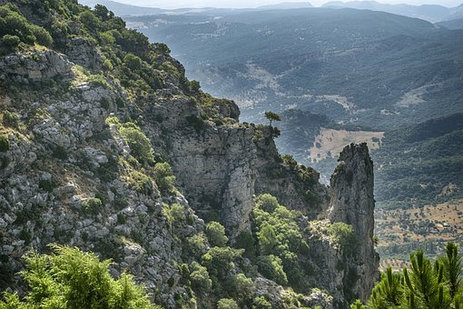 Landscape, Mountain, Hiking, Peak, Grazalema, Cadiz