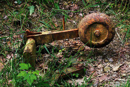 Soft, Switchman, Mechanically, Old, Rusted, Railway