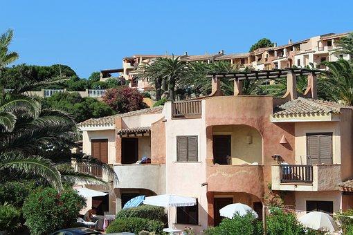 Village, La Marmorata, Sardinia