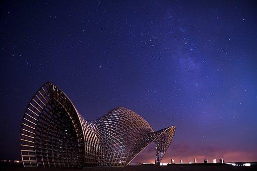 Nanhui Zui, The Milky Way, Starry Sky, Stars