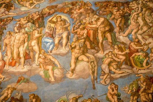 Vatican, Sistine Chapel, Michelangelo, Jesus, Tourism
