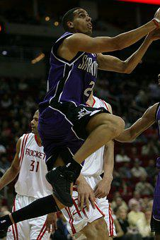 Basketball, Professional, Player, Action, Sport