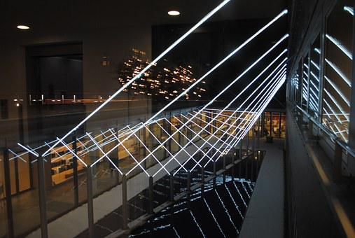 Light, Installation, Art, Architecture