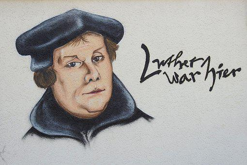 Facade, Mural, Art, Luther, Luther Was Here