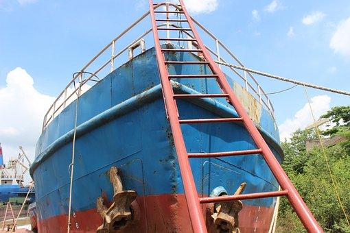 Ship, Sea Transport, Board, Transportation, Boat