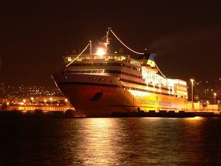Cruise Ship, Boat, Sea, Cruise, Travel, Ocean, Vacation
