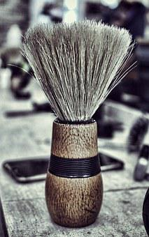 Brush, Shave, Cosmetics, Bristles, Men, Shaving