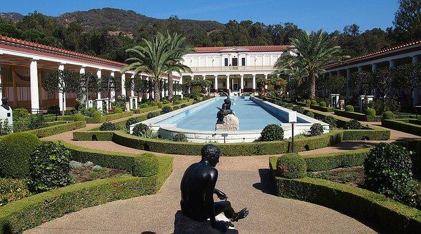 Getty Villa, Malibu, California, Museum