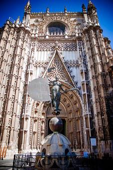 Cathedral Of Seville, Spain, Sevilla, Cathedral