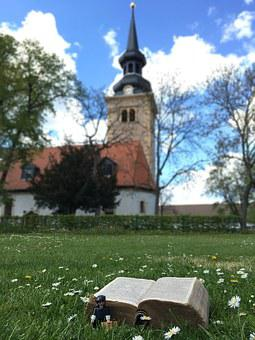 Church, Erfurt, Germany, Bible, Protestant, Luther Year