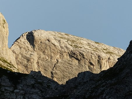 Mountain, Cima Della Saline, Saline, Sunny, Evening Sun