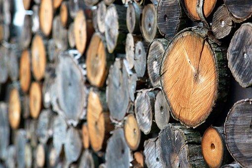 Wood, Holzstapel, Combs Thread Cutting, Firewood, Log