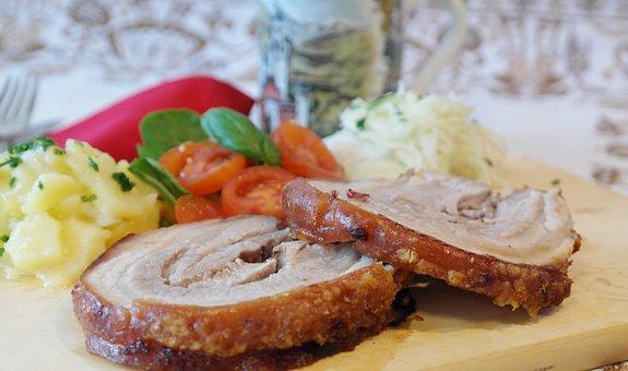 Fry, Roast, Pig, Pig Roast, Eat, Cook, Meal, Kitchen
