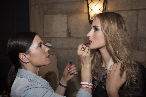 Make Up, Artist, Beauty, Cosmetics, Model