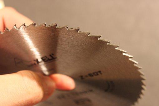 Blade, Circular, Cutting, Metal, Rotation, Round, Saw