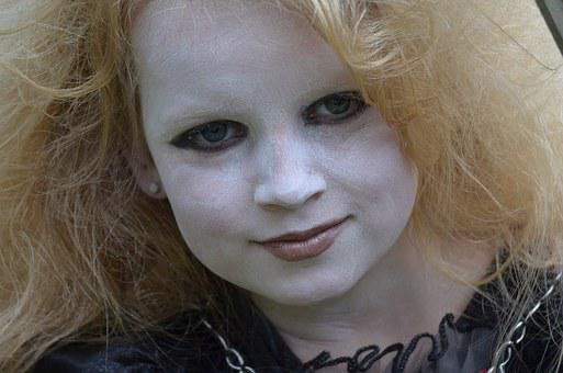 The Witch, Carnival, Child, Face, Make Up