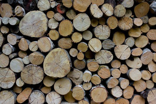 Wood, Holzstapel, Forest Workers, Firewood, Timber