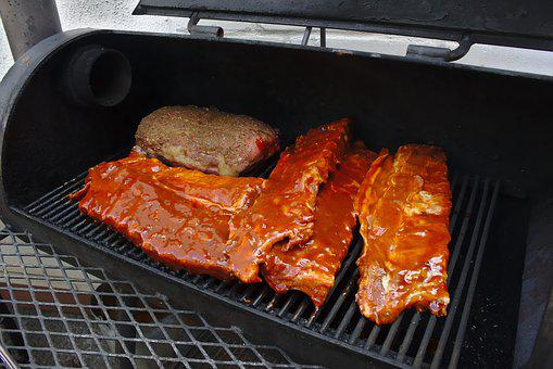 Grill, Barbecue, Ribs, Steack, Eat, Delicious, Grilled