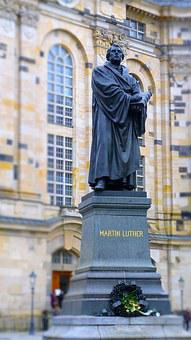 Martin Luther, Monument, Statue, Historically, Church