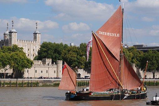 Tower Of London, River Thames, Historical, Landmark