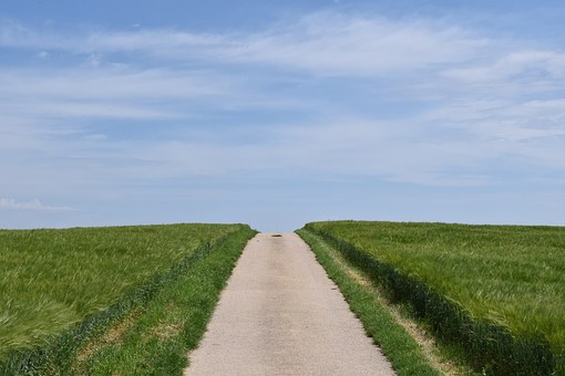 Away, Road, Landscape, Target, Just, Straight