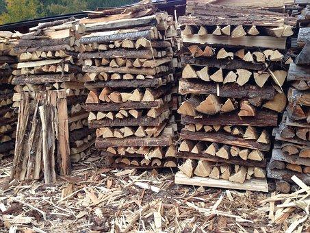Wood, Stock, Holzstapel, Firewood, Stack, Log