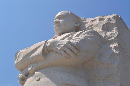 Martin, Luther, King, Washington, Statue