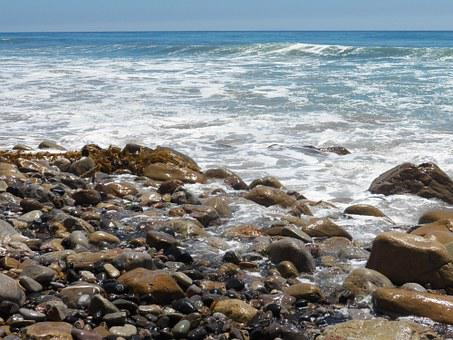 Malibu, Beach, Seascape, Ocean, Sea, Nature, Landscape